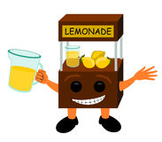 Lemonade stand Royalty Free Stock Image