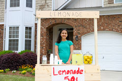 Lemonade Stand Stock Images