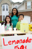 Lemonade Stand Royalty Free Stock Photo