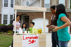 Lemonade Stand Stock Photos