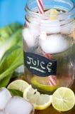 Lemonade summer drink Stock Photos