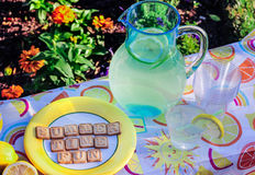 Lemonade and Summer Time Fun Royalty Free Stock Photos
