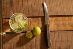 Lemonade - Top angle. Stock Images