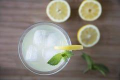 Lemonade Top View Royalty Free Stock Image