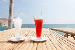 Lemonade and water malon. Royalty Free Stock Photos