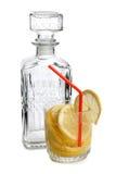 Lemonade on white Stock Images