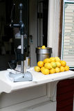 lemonadestand Arkivbild