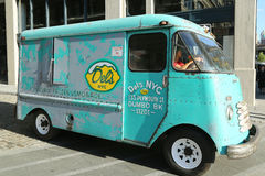 LemonadeTruck congelado NYC de Del Imagen de archivo