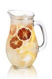Lemonadkanna Fotografering för Bildbyråer