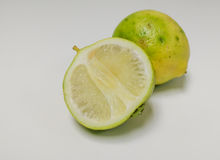 Lemonds isoleert Royalty-vrije Stock Foto