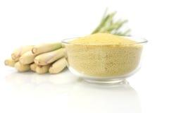Lemongrass balt salts in a bowl, Stock Image