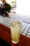 Lemongrass drink iced, Thailand cafe royalty free stock photos