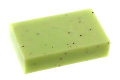 lemongrass för stångpärlglycerin skurar tvål Arkivbilder