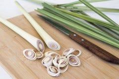 Lemongrass plasterka ziołowy jarski miejscowy Asia obrazy stock