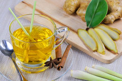 Lemongrass tea Stock Image