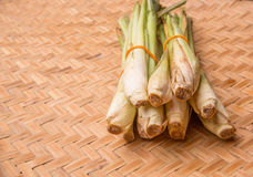 Lemongrass In Wicker Tray II Royalty Free Stock Photography