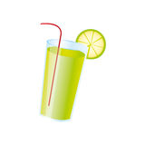 Lemoniada napoju ikony wizerunek Obrazy Royalty Free