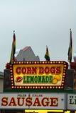 lemoniada psów kukurydziane Zdjęcia Royalty Free