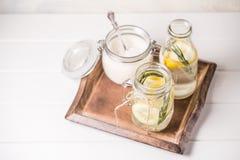 lemoniada szklana Zdjęcie Royalty Free