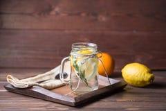 lemoniada szklana Zdjęcie Stock