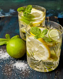 Lemoniada z mennicą zdjęcie royalty free