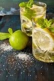 Lemoniada z mennicą Zdjęcie Stock