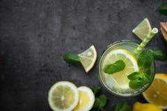 Lemoniady lata Tradycyjny napój Zdjęcie Stock