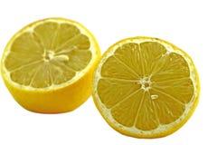 Lemons. Yellow lemons isolated on white Royalty Free Stock Photography