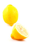Lemons. Photo of lemons on white background Stock Photos