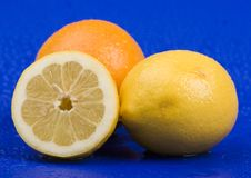 The lemons Stock Image