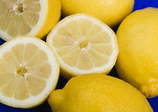 The lemons Royalty Free Stock Photo