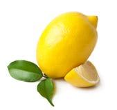 Lemons. Lemon isolated on white background Royalty Free Stock Photo