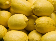 Lemons. Lot of lemons found in a local shop Royalty Free Stock Photography