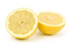 Lemons. Yellow Lemons with white background Royalty Free Stock Photos