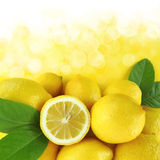 Lemons background Royalty Free Stock Photo