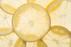 Lemons background. Healthy lifestyle, vegetables Royalty Free Stock Photos