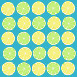 Lemons background Royalty Free Stock Images