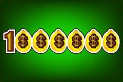 Lemons banner template. Template of advertising banner with lemons on green background vector illustration Stock Photo