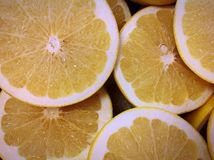 Lemons for breakfast. Food background citrus fruit healthy healthcare Stock Images