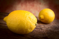 Lemons citrus fruits Stock Photo