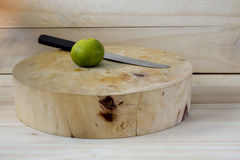 Lemons on Cutting boards Royalty Free Stock Photography