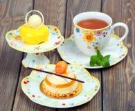 Lemons delicious cakes Royalty Free Stock Photo