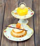 Lemons delicious cakes Stock Image