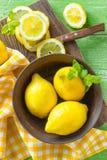 Lemons Stock Images