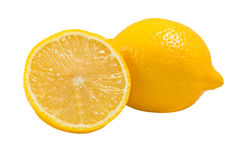 Lemons Fruit ,isolated on white Stock Image