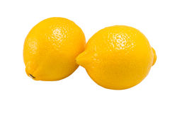 Lemons Fruit ,isolated on white Stock Images