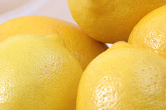 Lemons in a group Royalty Free Stock Photography