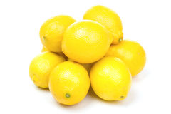 Lemons group Royalty Free Stock Photography