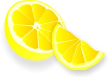 Lemons illustration Stock Images