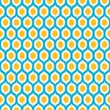Lemons inside lemons seamless background Royalty Free Stock Photo